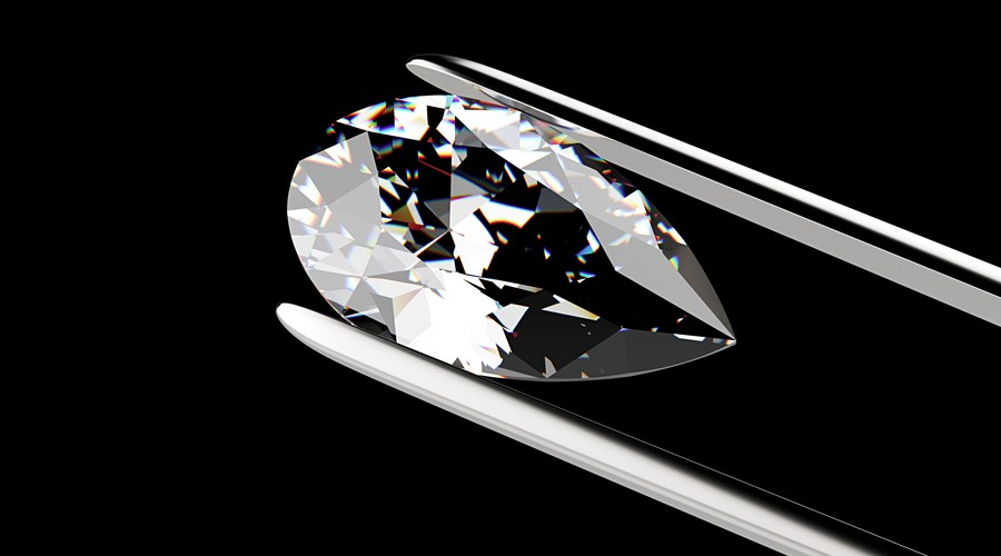 Pear Cut Diamonds