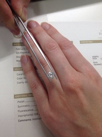 Choosing the perfect diamond