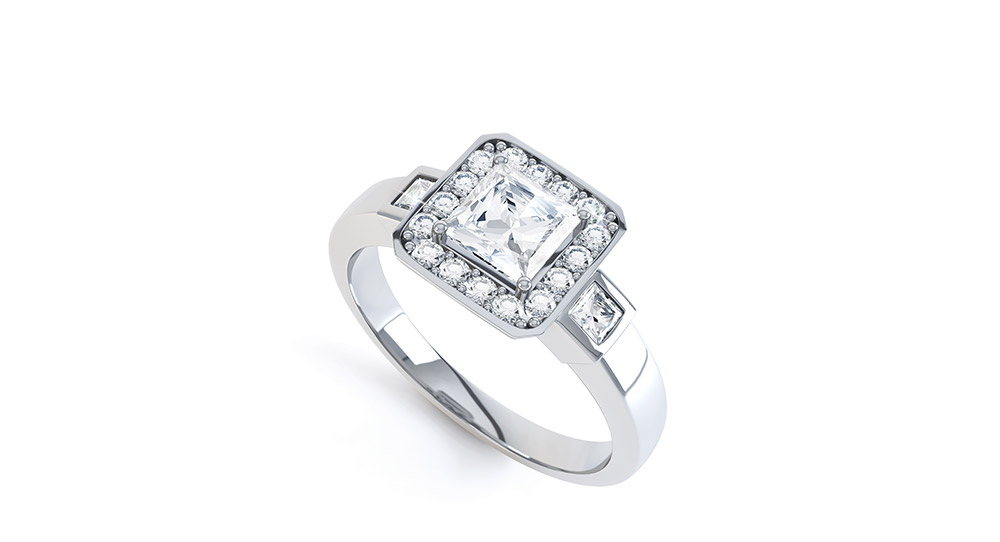 Art Deco Diamond Rings