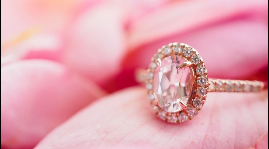 Fashionable Rose Gold Engagement Rings