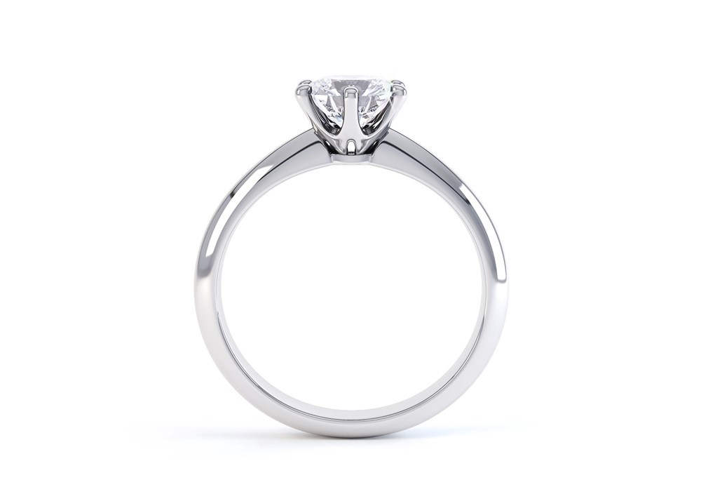 What Is A Tiffany Style Engagement Ring Quality Diamonds