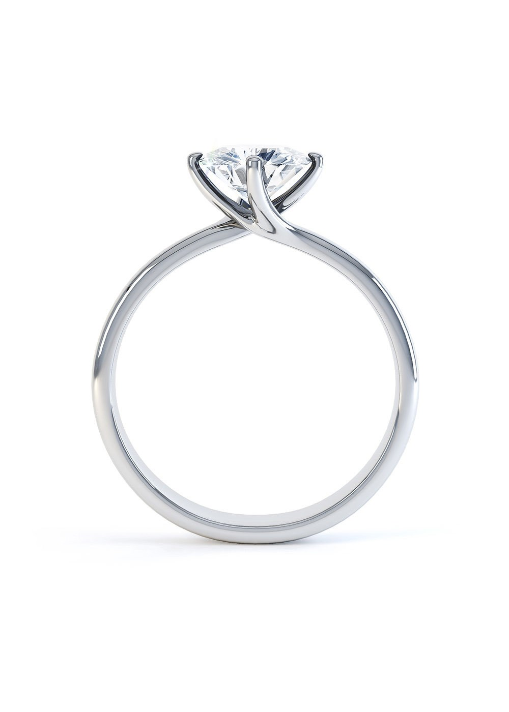 Contemporary Solitaire Rings
