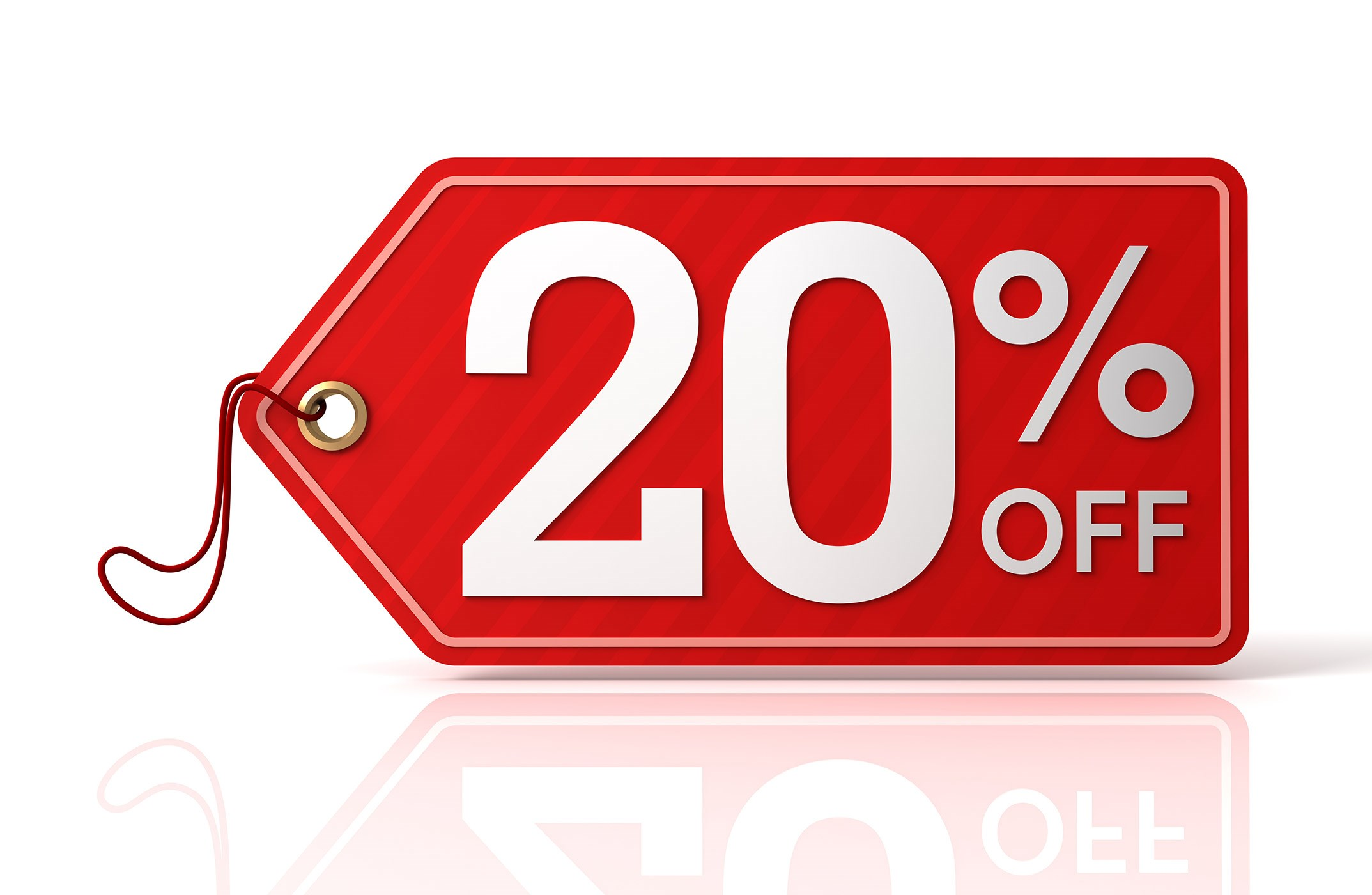 20% Off Settings Sale